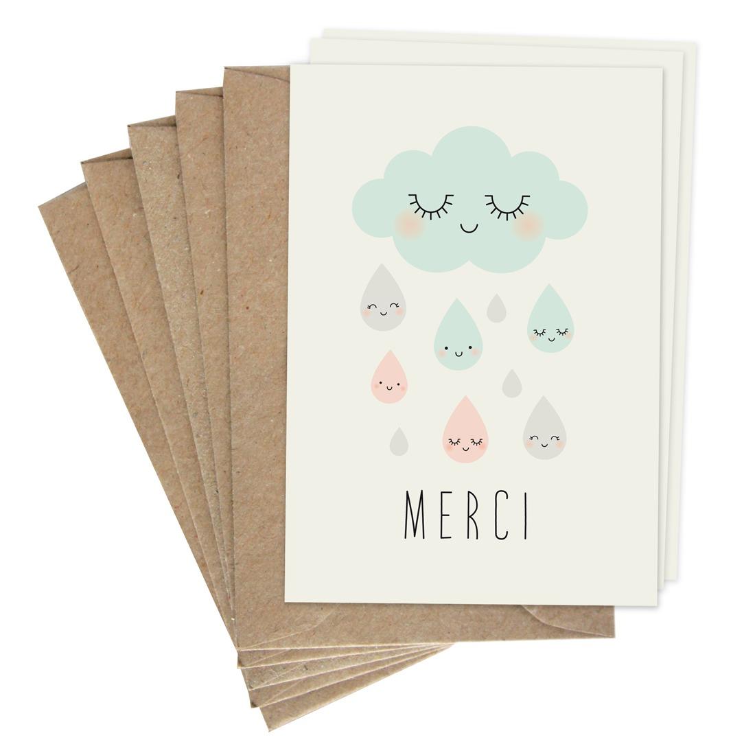 cartes doubles merci | zü – boutique